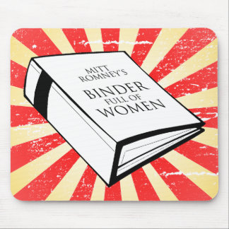 BINDER FULL OF WOMEN MOUSE PADS