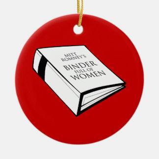 BINDER FULL OF WOMEN CHRISTMAS ORNAMENT