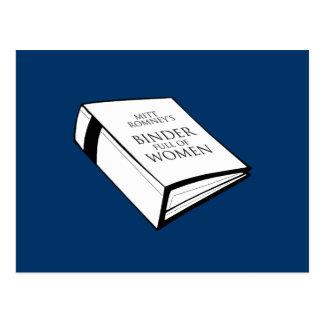 BINDER FULL OF WOMEN POSTCARD