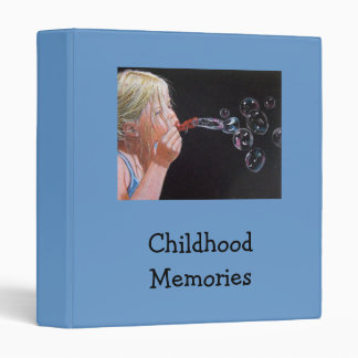 BINDER: GIRL BLOWING BUBBLES: MEMORIES