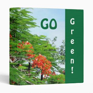 Binder Go Green Flame Tree
