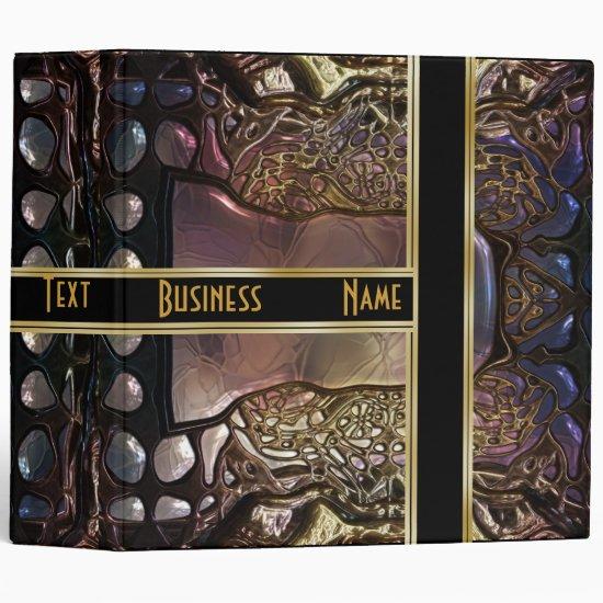 Binder Gold Metal (18) Photos Business Portfolio