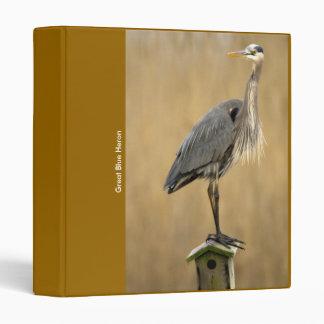 Binder / Great Blue Heron