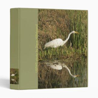 Binder / Great Egret Wading