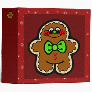 Binder - Holiday Gingerbread Man
