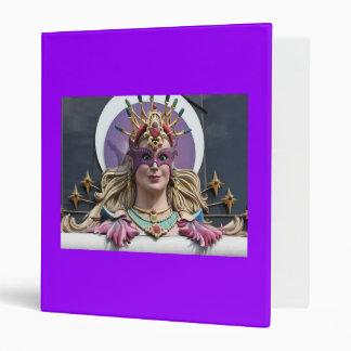 Binder, Las Vegas Statue Lady, purple Binder