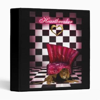Binder Lion Heartbreaker Vinyl Binder
