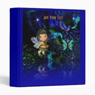 Binder Little Blue Fairy For Children