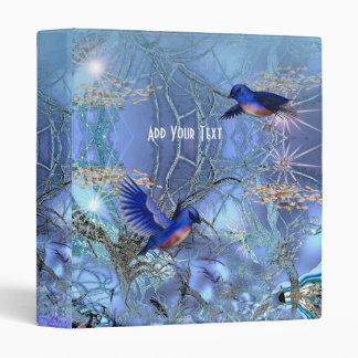 Binder Magical Blue Birds