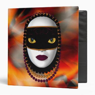 Binder-Masked Cat Woman Binder