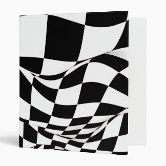 Binder - Modified Checkered Flag