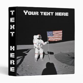 Binder: Moonwalk & American Flag