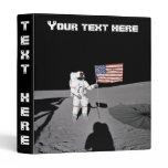 Binder: Moonwalk & American Flag Binder