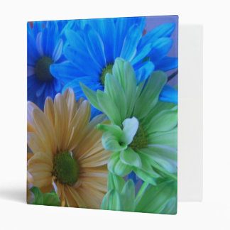 Binder - Multicolored Daisy Panorama
