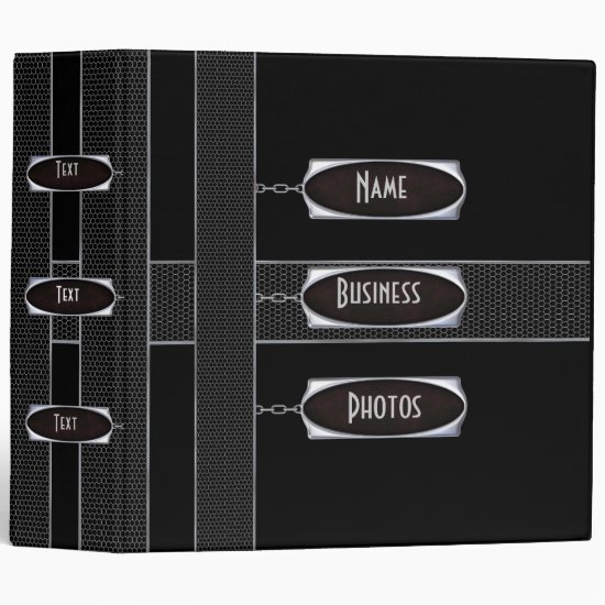 Binder Photo Business Black Metal 3