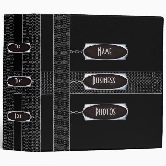 Binder Photo Business Black Metal 3