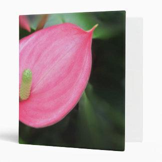 Binder - Pink Anthurium Twins