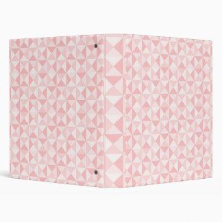 """Binder """"Pink Squares"""""""