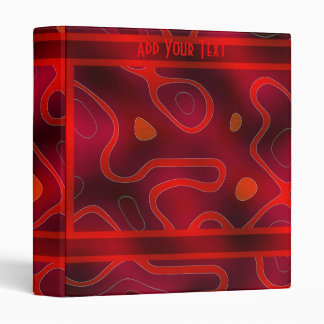 Binder Red Double Mix