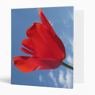 Binder - Red Tulips Blue Sky