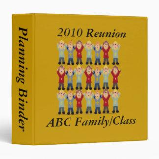 Binder -  Reunion Planning / cartoon group