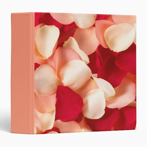 binder rose petals
