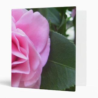 Binder - Rose Pink Camellia