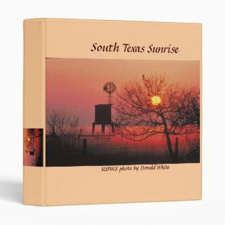 Binder South Texas Sunrise