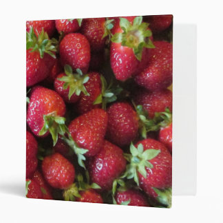 Binder - Summer Strawberries