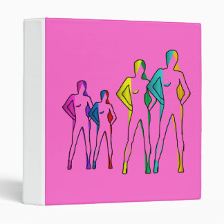 binder sweet ladies silhouettes four models lgbt