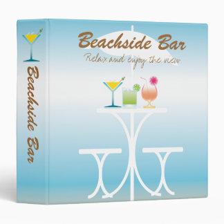 Binder Template Beachside Bar