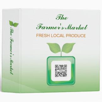Binder Template Farmer's Market
