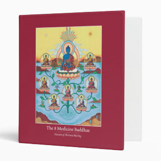 BINDER The 8 Medicine Buddhas - great for texts