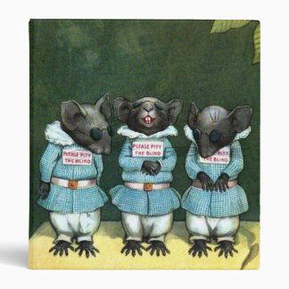 Binder Three Blind Mice