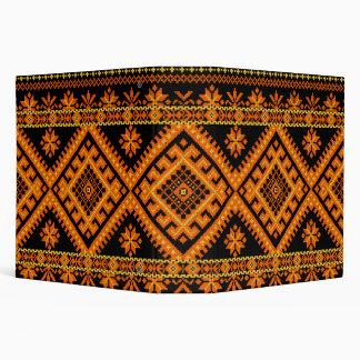 Binder Ukrainian Cross Stitch Embroidery