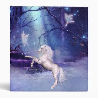 Binder-Unicorn Horse Angel Binder