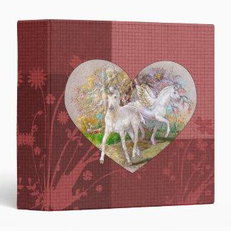 Binder - Unicorn Pegasus Heart