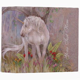 Binder - Unicorn Spring Blooms