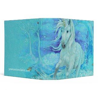 Binder - Unicorn Winter Run