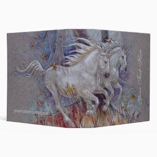 Binder - Unicorns Autumn Run
