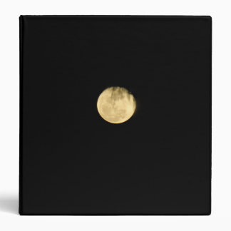 Binder unique the full moon at it perfect time