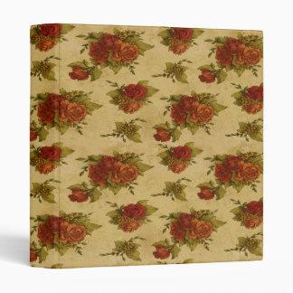 Binder Vintage Floral Print