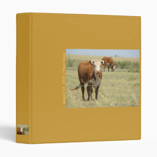 Binder / West Texas Beef on the Hoof