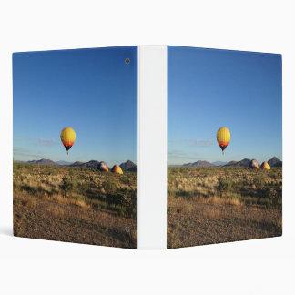 Binder with Desert Balloon