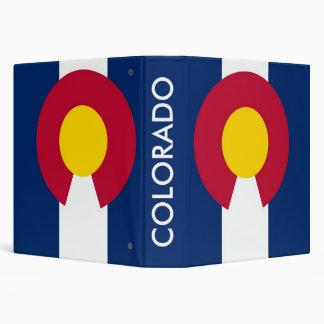 Binder with Flag of Colorado, USA