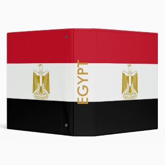 Binder with Flag of Egypt