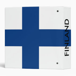 Binder with Flag of Finland