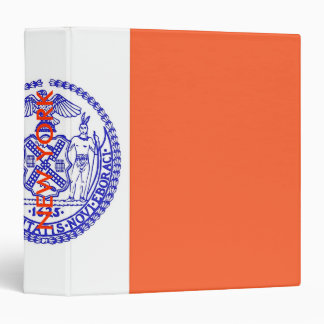 Binder with Flag of New York, USA