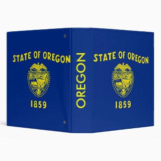 Binder with Flag of Oregon, USA
