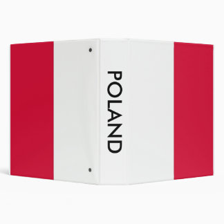 Binder with Flag of Poland